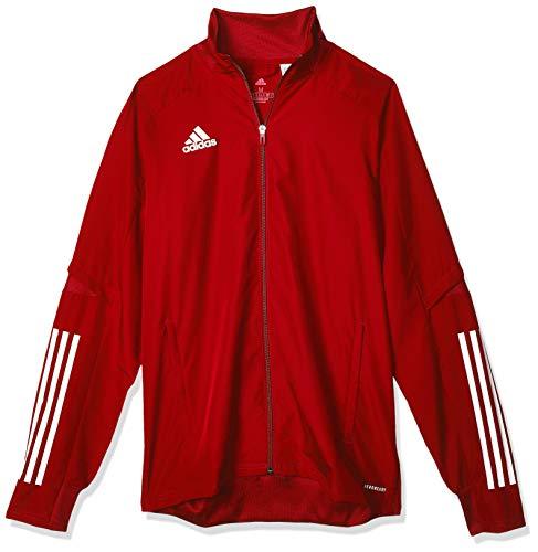 adidas CON20 PRE JKT Sport Jacket, Hombre, Team Power Red/White, S