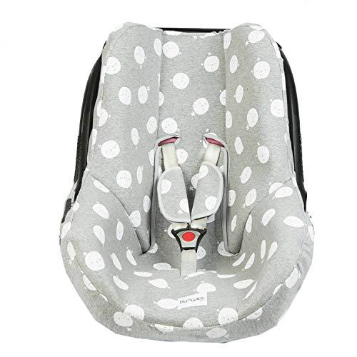 BAOBABS BCN Funda para Maxi Cosi Cabriofix y Grupo 0 carbon moon acabado de calidad para bebé