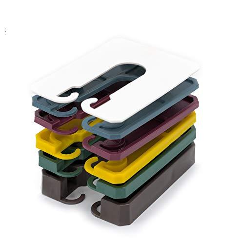 INNONEXXT® Premium Abstandshalter | 60 x 45 mm, 400 Stück | Unterlegplatten, Abstandhalter, Distanzhalter aus Kunststoff | Set: 1, 2, 3, 4, 5, 10 mm