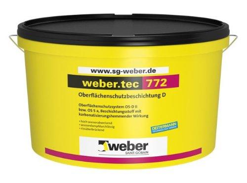 weber.tec 772, 15l - Oberflächenschutzbeschichtung D