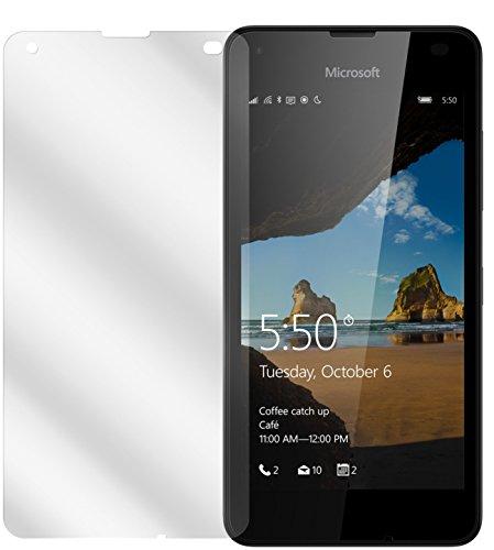 dipos I 2X Schutzfolie klar kompatibel mit Microsoft Lumia 550 Folie Bildschirmschutzfolie