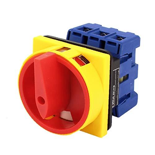 X-DREE SZD11-40A Interruptor rotura de carga rotativa combinada 40A 690V(SZD11-40A Changeover Combination Rotary Load Break Switch 40A 690_V