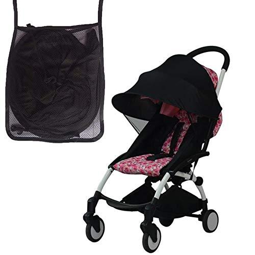 Universal Sonnensegel für Kinderwagen & Sportwagen, Sonnenschutz mit UV Schutz Beschichtung 50+ für Babywanne/Buggys