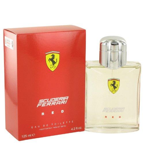 Ferrari Scuderia Red by Ferrari Men's Eau De Toilette Spray 4.2 oz - 100% Authentic