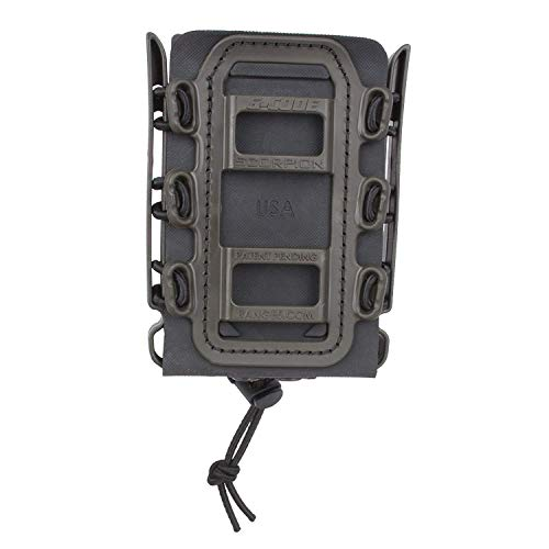 G-CODE Rifle Soft Shell Scorpion Mag Carrier (Black and OD Green) with Molle Mount Attachment 100% Made in USA
