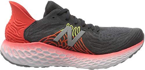 New Balance Men's Fresh Foam 1080 V10 Running Shoe, Phantom/Neo Flame, 13 M US