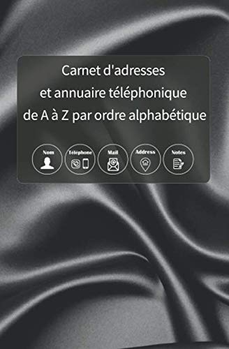 Bester der welt Carnet d'adresses: et annuairetelefonique de Aà Z parordre alpha bétique: Enregistrez tousles…