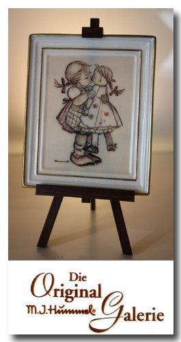 The Original M. J. Hummel Gallery ** Puppen - Mütterchen ** mit Zertifikat, Handbemalt, Porzelan Bild mit Staffelei