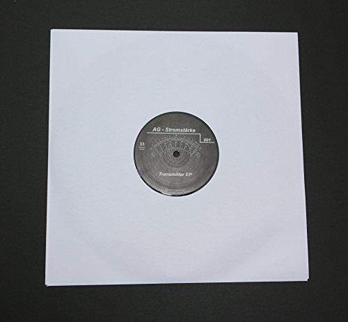 50 St. LP Schallplatten Innenhüllen ungefüttert 90 gramm reinweißes Papier Vinyl LP Maxi Single