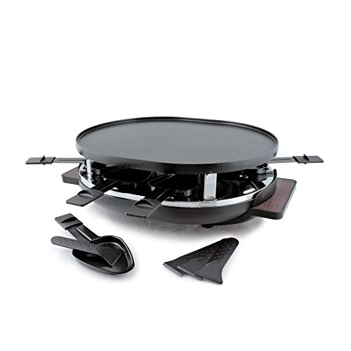 Swissmar KF-77066 Matterhorm 8-Person Raclette, Black