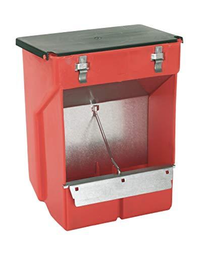 Kerbl 74105 Futterautomat für Kaninchen  Kunststoff / Metall, 2 Fressplätze