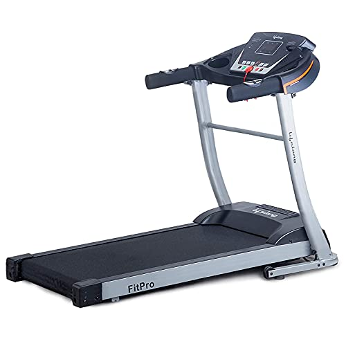 Lifelong FitPro LLTM09 (2.5 HP Peak) Manual Incline Motorized Treadmill for Home with 12 preset Workouts, Max Speed 10km…