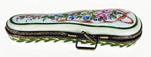 Porcelaine de Limoges - Miniature porcelaine de Limoges Etui à violon