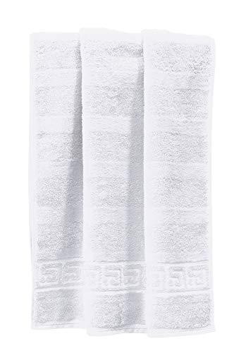 Cawö Noblesse Uni Duschtuch 80/160cm, weiß