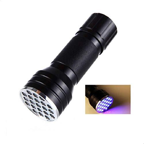 Epissche Linterna LED Ultravioleta Blacklight Torch aleación de Aluminio 395-410nm UV Pegamento curado Tinta Invisible inspección de la lámpara de Marcado