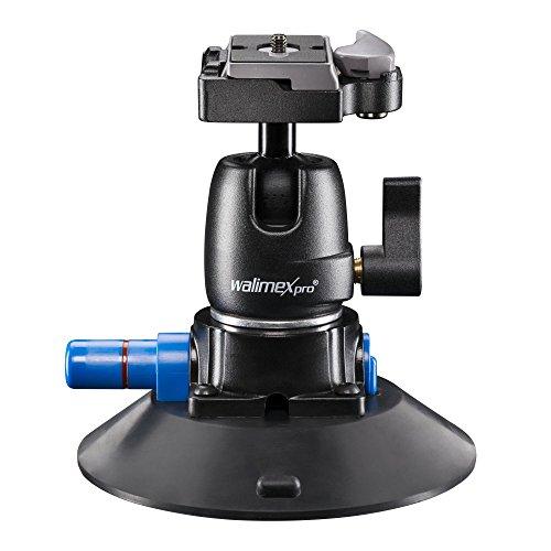 Walimex Pro Saugnapf-Stativ inkl. Kugelkopf für System- und DSLR Kameras