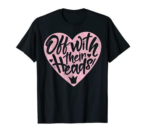 Disney Villains Valentine's Day Off With Their Heads T-Shirt