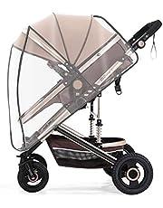 Universele Regenhoes, Kinderwagen Regenhoes,EVA Wind Cover voor Wandelwagen, Geschikt voor Waterdichte en Regenbestendige Kinderwagen