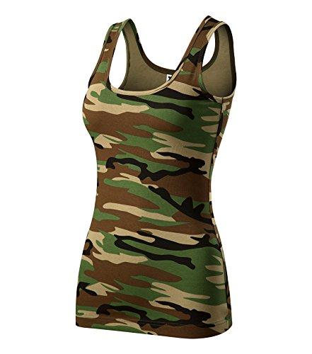 Adler T-Shirt Damentop Triumph Top Größe und Farbe wählbar - (M, Camouflage braun)