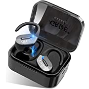 Wireless Earbuds,GRDE Bluetooth 5.0 Headphones 50H Playtime Bluetooth Earbuds TWS 3D Stereo Sound Noise Canceling in Ear Wireless Earphones with Charging Case for Work Sports[Upgraded]
