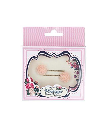 The Vintage Cosmetic Company 2 Grande Fleur Rose épingles