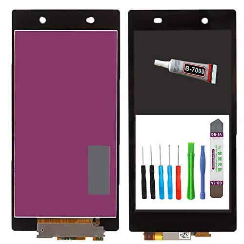 MPP UG Ersatz Display für Sony Xperia Z Ultra XL39h LCD Touchscreen Digitizer schwarz LCD+Touch+WERKZEUGSET+FLÜSSIGKLEBER