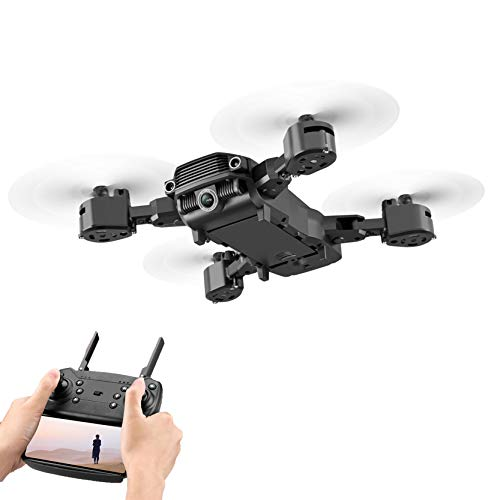 DEESEE(TM)_🍀Ship from US Warehouse 4K/1080P HD Dual-Lens Four-Axis Drone RC Remote Control Quadcopter, Aircraft Toys for Friends, Adults, Children (4K Camera)