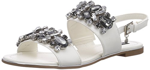 Blink BL 542, Sandales pour femme - Blanc - Weiß (white04), (Taille UK: 6) /(Taille EU: 39)