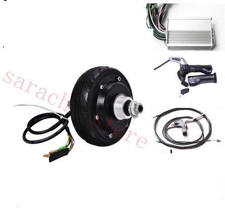 GZFTM 5 Pulgadas 250W 24V Motor eléctrico para Silla de Ruedas monopatín del Motor Auto eléctrico Equilibrio de Piezas de Scooter