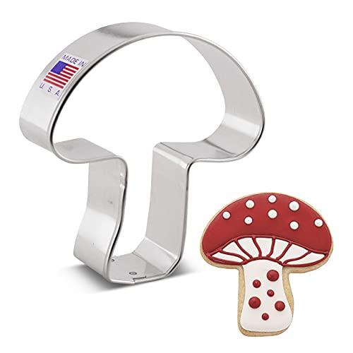 Ann Clark Cookie Cutters Mushroom Cookie Cutter, 3.25'