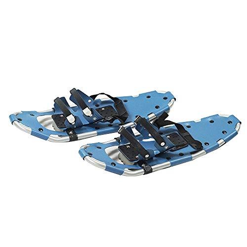 N \ A Raquetas de Nieve para Hombres y Mujeres, Ligeras de aleación de Aluminio, Todo Terreno, Zapatos de Nieve con Fijaciones de trinquete Ajustables, para Esquiar, Equipos de Deportes de Invierno