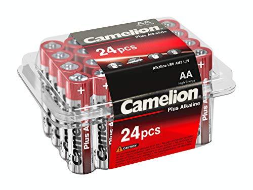 Camelion 11102406 Plus Alkaline Batterie LR6, Mignon, AA, 24er-Pack