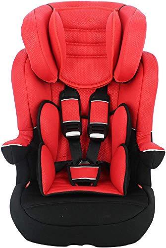 Los asientos de seguridad, la seguridad del asiento de coche de bebé, asientos de coche de seguridad infantil para niños de 9 a 36 kg,Red