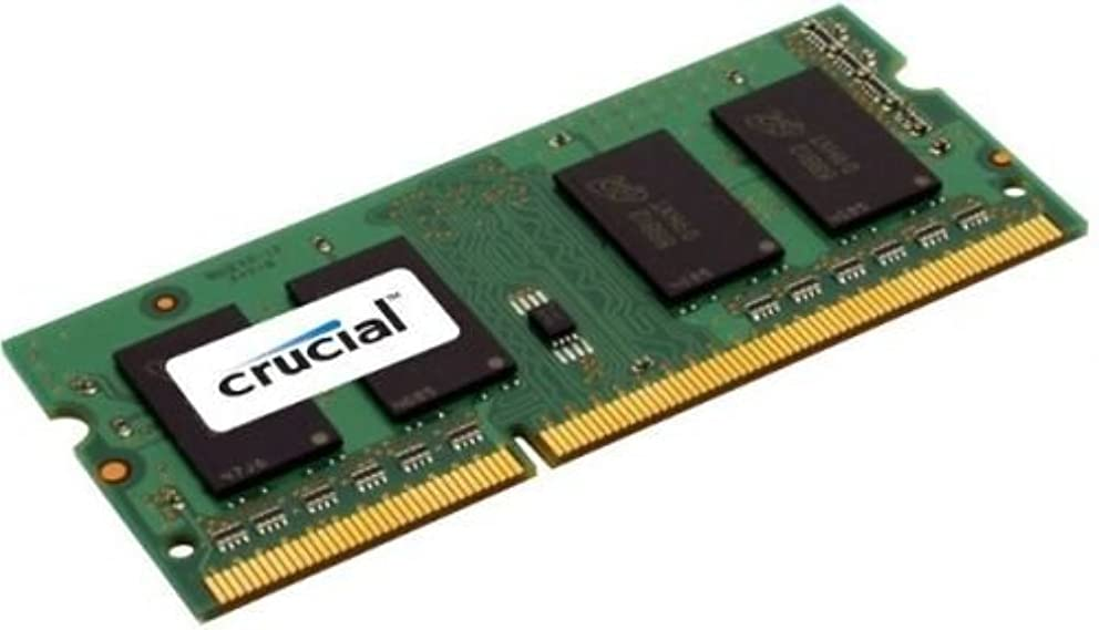 Crucial 1GB Single DDR3 1333 MT/s PC3-10600 CL9 SODIMM 204-Pin 1.35V/1.5V Notebook Memory Module CT12864BF1339