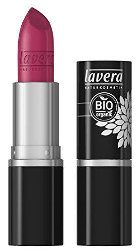 lavera rouge à lèvres - Beautiful Lips Colour Intense - Pink Fuchsia 16 - rouge à lèvres classique - Cosmétiques naturels - Make up - Ingrédients végétaux bio - 100% Naturel Maquillage (4,5 g)