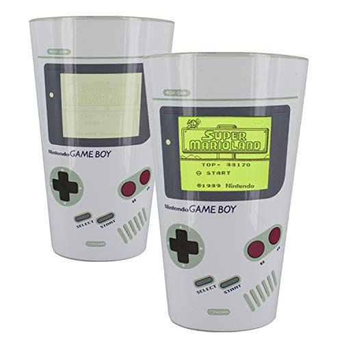 Nintendo Bicchiere TERMOCOLORE Game Boy, Multi-Colour, 6 x 8.8 x 14.7 cm