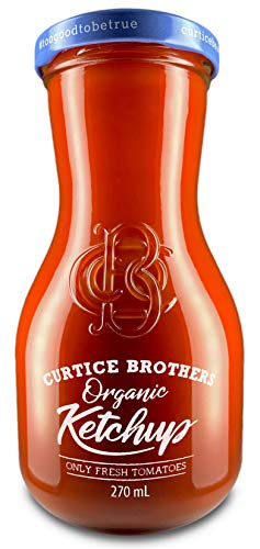 Curtice Brothers Organic Tomato Ketchup - BIO Ketchup aus der Toskana mit 77% Tomaten Anteil - 1 x 300g Tomatenketchup