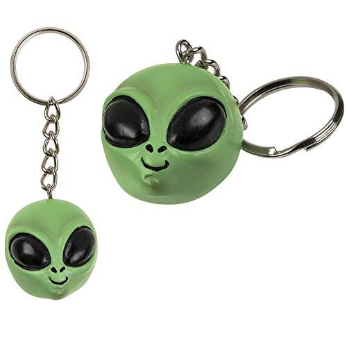 OOTB Llavero de Alien Head, Zona 51, Roswell