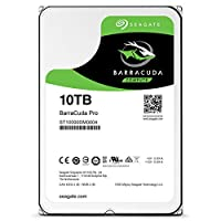 Seagate BarraCuda Pro 3.5インチ 10TB 内蔵ハードディスクHDD ヘリウム 6Gb/s 256MB 7200rpm ST10000DM0004 (整備済み品)