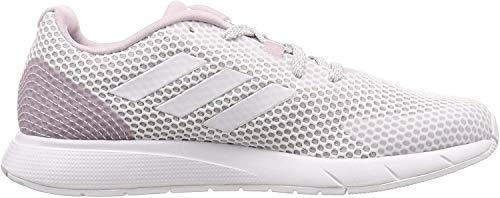 adidas EE9932 Sooraj Damen Sneaker aus Mesh mit weichem Neoprenfutter Dämpfung, Groesse 38, Weiss