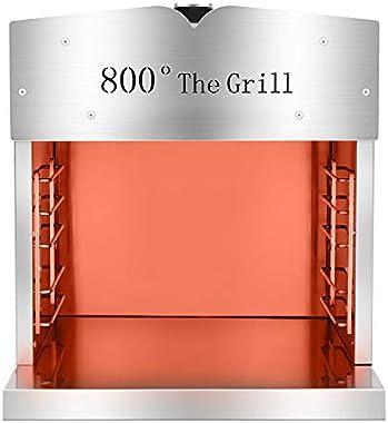 1.4.3. Girl Infrared Propane Gas Grill Kitchen Outdoor Barbecue Oven Portable Dual Purpose Barbecue BBQ high Temperature 1800