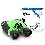 Vanstarry Kids Binoculars, 5X30 Optical Lens - Compact High Resolution Kids Binoculars for Kids Camping, Hiking, Bird Watching and Outdoor Exploring - Including Compass