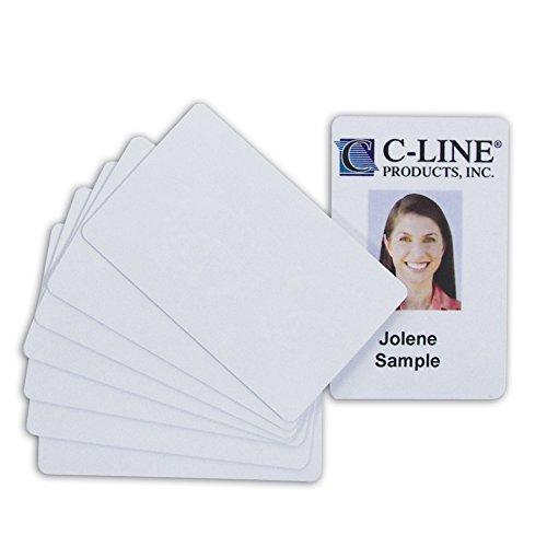 C-Line Graphics - Tarjetas de PVC de calidad de video para tarjetas de identificación, color...
