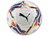 PUMA LaLiga 1 Accelerate (FIFA Quality Pro) WP Ballon De Foot Unisex-Adult, White-Multi Colour, 5