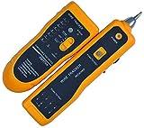 GCX Tester de Cable, trazador de Alambre multifunción de Mano JW-360, probador de Cables para el probador de línea telefónica y la comprobación de continuidad, con Linterna LED