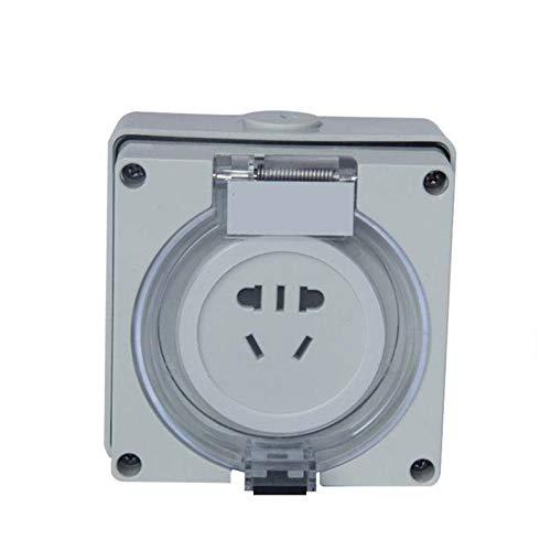Impermeable 56SO310F Power Fuente de alimentación Carga industrial Luz de la casa y la instalación de la sombra Dos o tres tapones 5 orificios 10A impermeable