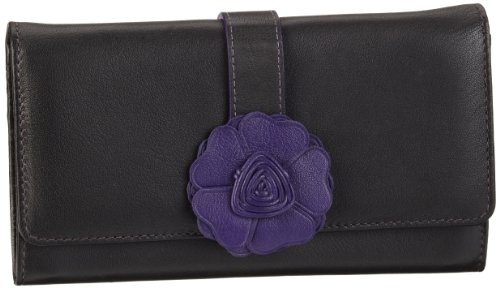 Bodenschatz Como 4-894 CO 54, Damen Portemonnaies, Rot (Purple), 18x10x3 cm (B x H x T)