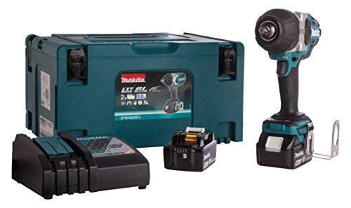 Makita 88381803502 Llave de Impacto de Batería, 500 W, 18 V, Azul, Única