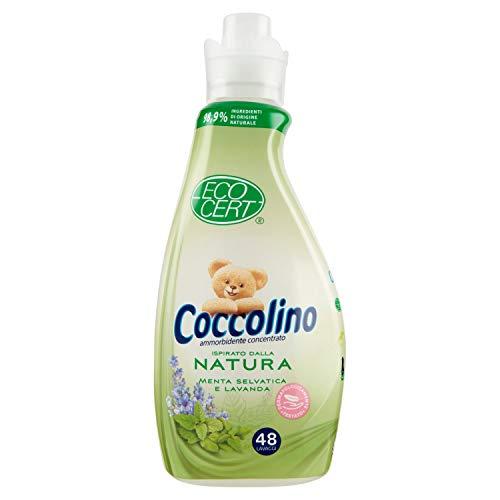 Coccolino Ammorbidente Eco-Cert Menta Selvatica e Lavanda, 1200 Gr