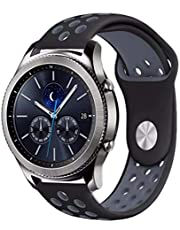 Sport silicone Strap For Huawei Watch GT2 and Samsung Gear S3